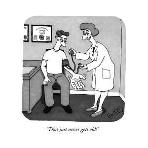"""That just never gets old!"" - New Yorker Cartoon by J.C. Duffy"