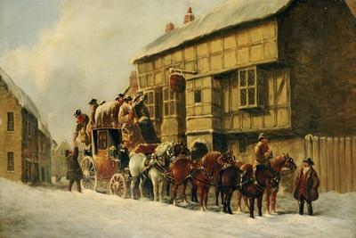Outside the George Inn, 1879