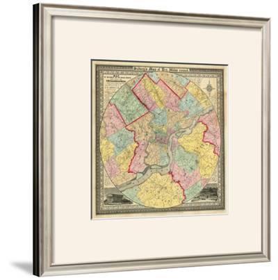 The City of Philadelphia, c.1847 by J. C. Sidney