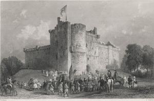 Charles at Doune, 1746 by J. Carter