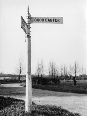 Good Easter Signpost by J. Chettlburgh