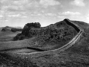 Hadrian's Wall by J. Chettlburgh
