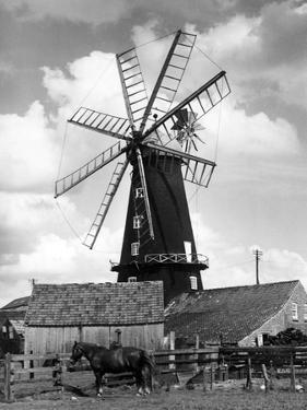 Heckington Windmill by J. Chettlburgh