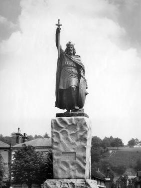 King Alfred, Winchester by J. Chettlburgh