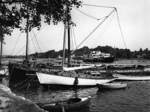 Lymington Harbour by J. Chettlburgh
