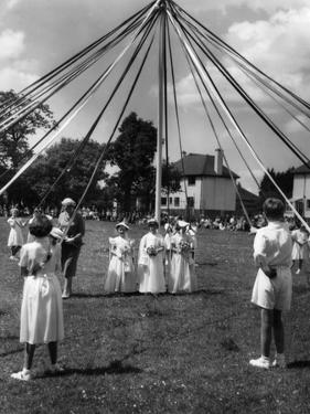 Maypole Dancing by J. Chettlburgh