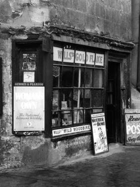 Newsagents 1930S by J. Chettlburgh
