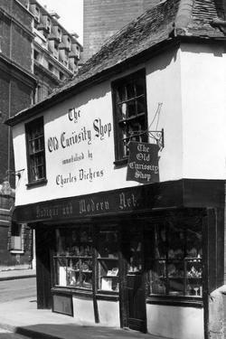 Old Curiosity Shop by J. Chettlburgh