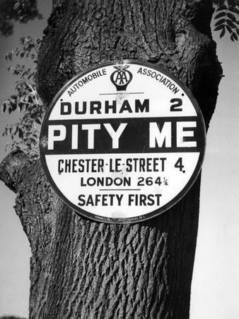 'Pity Me' Signpost