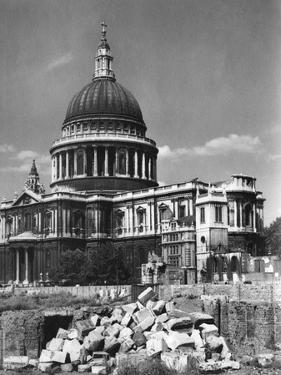 St. Paul's after Blitz by J. Chettlburgh