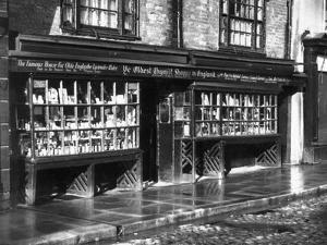The Oldest Chemists Shop by J. Chettlburgh