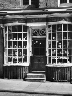 Tobacconists Shopfront by J. Chettlburgh