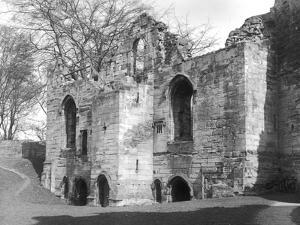 Tutbury Castle by J. Chettlburgh