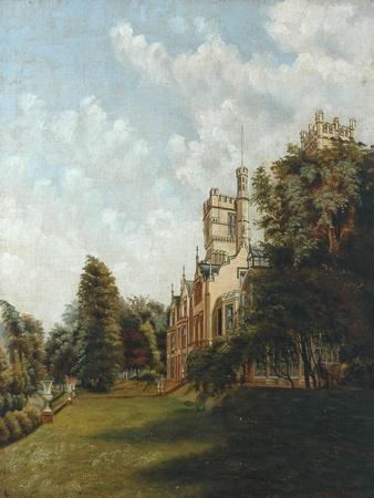 Cliffe Castle, 1883
