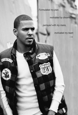 J. Cole Black and White
