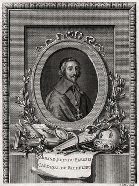 Armand Jean Du Plessis, Cardinal Et Duc De Richelieu, 1775 by J Collyer