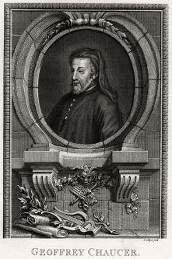 Geoffrey Chaucer, 1774 by J Collyer