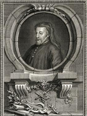Geoffrey Chaucer, Collyer by J Collyer