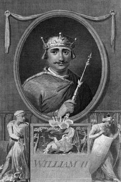 King William II of England by J Collyer