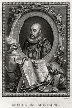 Michel De Montagne, 1775 by J Collyer