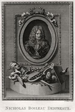 Nicholas Boileau Despreaux, 1775 by J Collyer