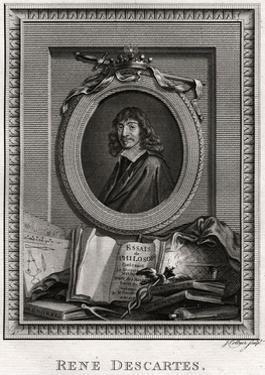 Rene Descartes, 1775 by J Collyer