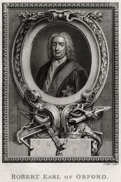Robert Earl of Oxford, 1775 by J Collyer