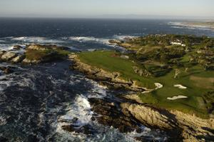Cypress Point Golf Course, Hole 17 by J.D. Cuban