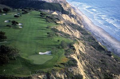 Torrey Pines Municipal Golf Course South Course, Hole 4 by J.D. Cuban