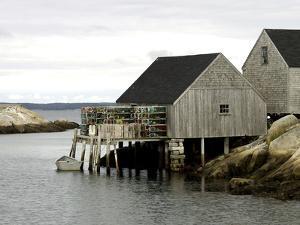 Peggy?s Cove, NS by J.D. Mcfarlan
