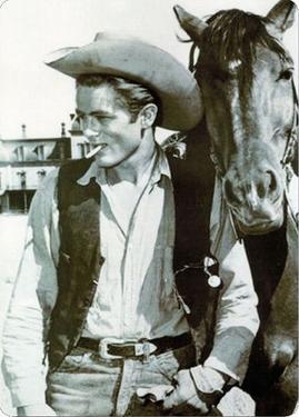 J Dean Cowboy Portrait
