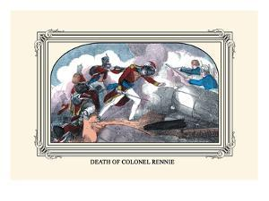 Death of Colonel Rennie by J. Downes