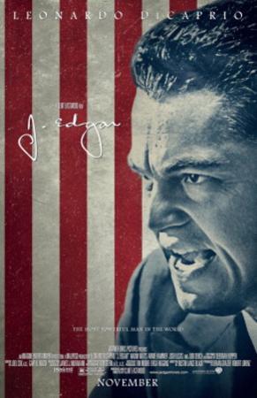 J. Edgar (Leonardo Di Caprio) Movie Poster