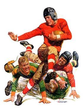 """College Football,""October 15, 1932 by J.F. Kernan"