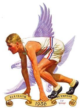 """""""Eleventh Olympiad,""""August 8, 1936 by J.F. Kernan"""