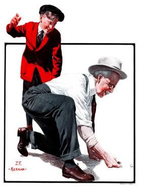 """""""Grandpa Goes Knuckles Down,""""March 10, 1923 by J.F. Kernan"""