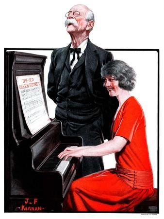 """Singing the Old Oaken Bucket,""February 17, 1923"