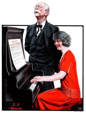 """""""Singing the Old Oaken Bucket,""""February 17, 1923 by J.F. Kernan"""