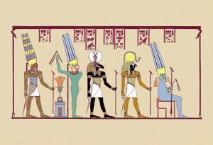 Amen-Ra, King of the Gods by J. Gardner Wilkinson
