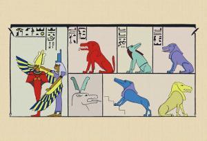 Amt, Isis and Osiris by J. Gardner Wilkinson