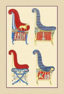 Ancient Egyptian Chairs by J. Gardner Wilkinson