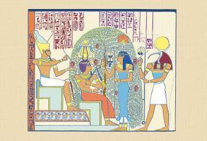 Atum, Ramses II and Sefekh by J^ Gardner Wilkinson