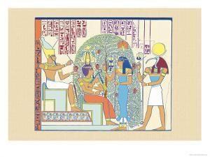 Atum, Ramses II and Sefekh by J. Gardner Wilkinson