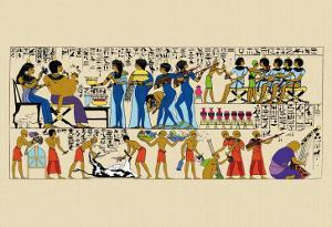 Celebration from a Tomb at Thebes by J. Gardner Wilkinson