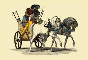 Egyptian Chariot by J. Gardner Wilkinson