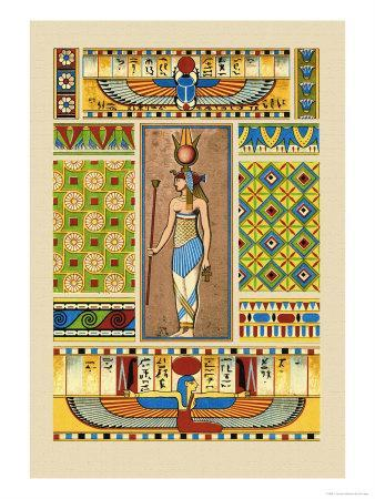 Egyptian Ornamental Patterns
