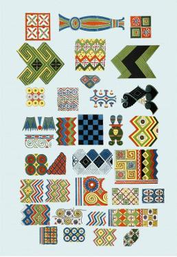 Patterns from Egyptian Ceilings by J. Gardner Wilkinson