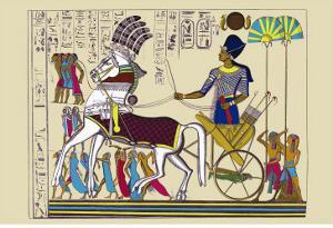 Ramses III Returning with His Prisoners by J. Gardner Wilkinson