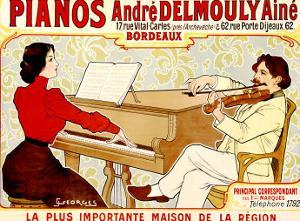 Pianos Delmouly by J. Georges