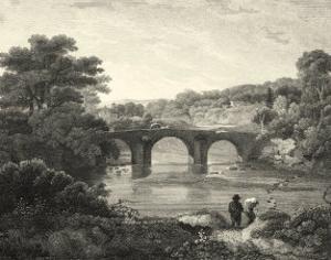 Canoby Bridge by J. Greig